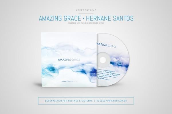 Criação de Capa para o CD Amazing Grace