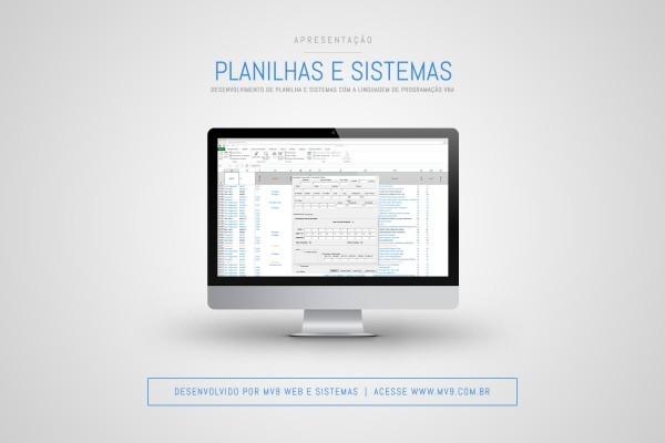 Desenvolvimento de Planilhas e Sistemas com a linguagem de programação VBA