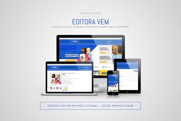 Criação de Loja Virtual com Magento para a Editora VEM