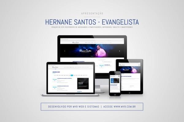 Criação de Site Responsivo para o Conferencista Hernane Santos