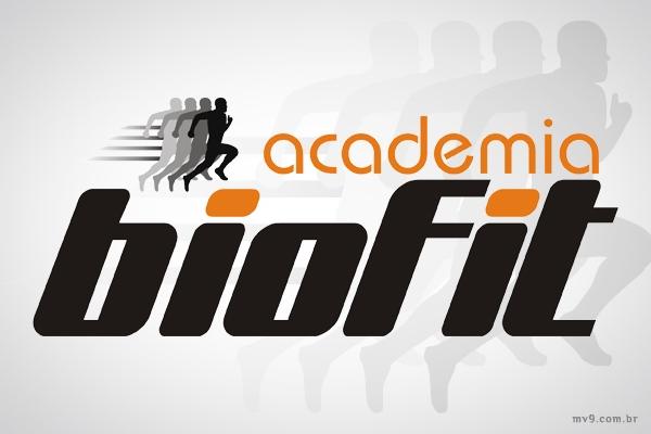Criação de logotipo para Academia Biofit