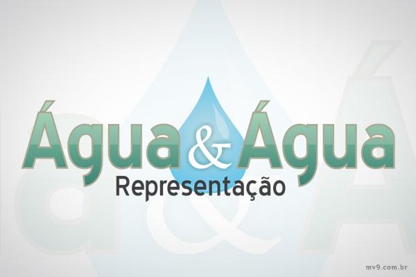 Criação de logotipo para Água e Água - Representações