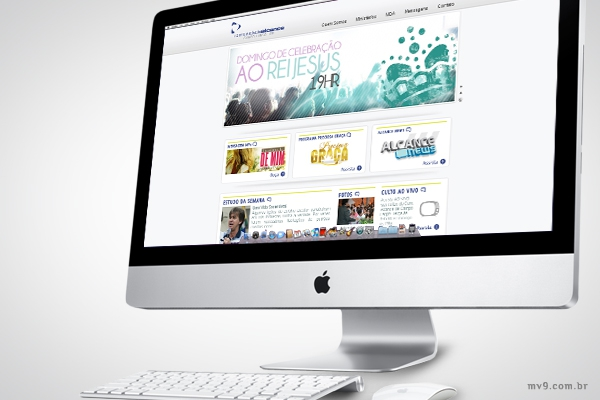 Desenvolvimento de website para Comunidade Alcance de Campo Largo