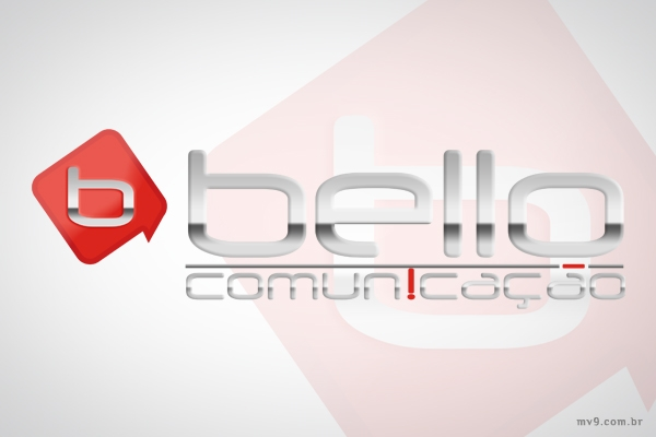 Criação de logotipo para Bello Comunicação