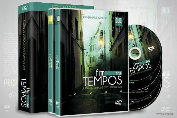 Criação de arte para box de DVD Fim dos Tempos