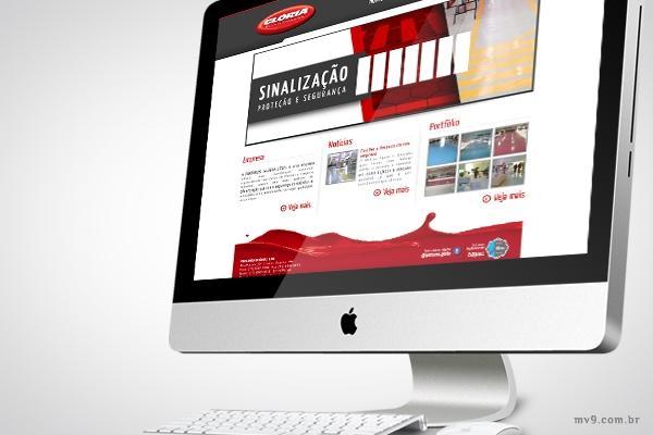 Desenvolvimento de website com SEO para Pinturas Glória - Pinturas Industriais