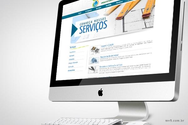 Desenvolvimento de website para Lyon Construtora