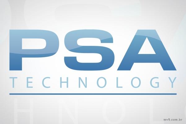 Criação de logotipo para PSA Technology